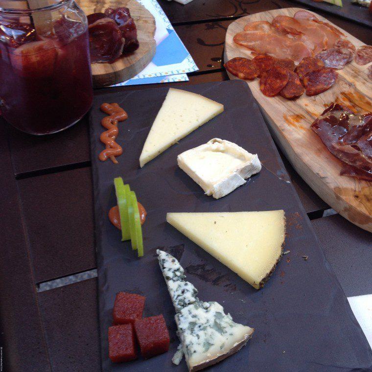 Iberica La Terraza Cheeses