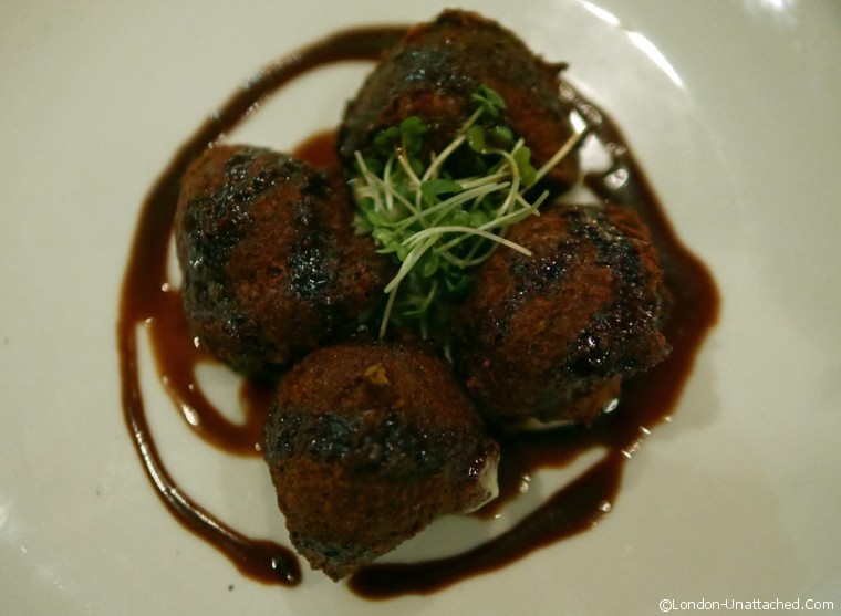 Jar kitchen ox cheek croquettes