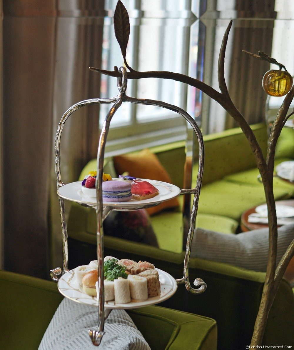 Mandarin Oriental Afternoon tea service