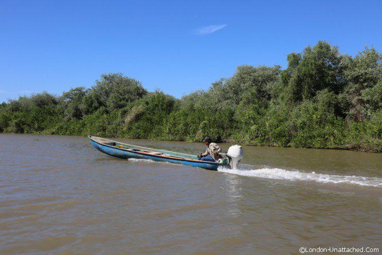 Mexico Mexicaltitan Boat