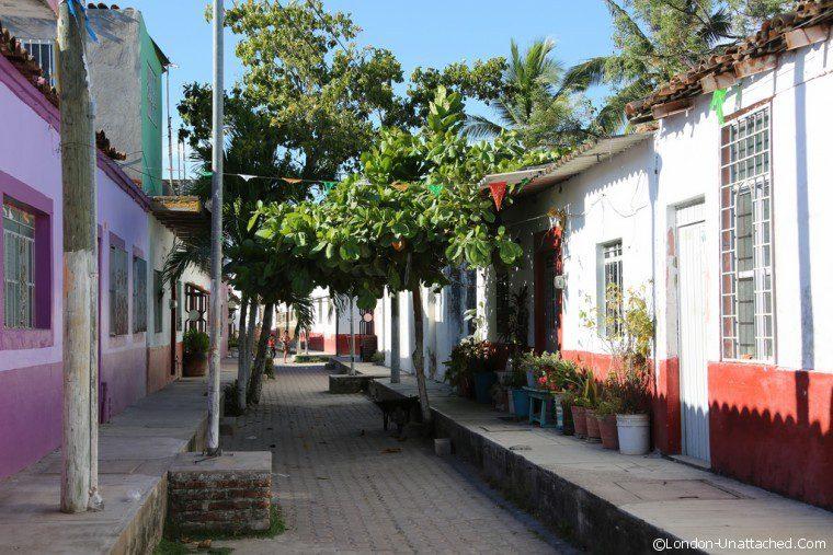 Mexico Mexicaltitan Street