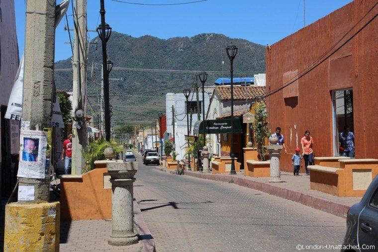 Mexico Riviera Nayarit Tepic Street