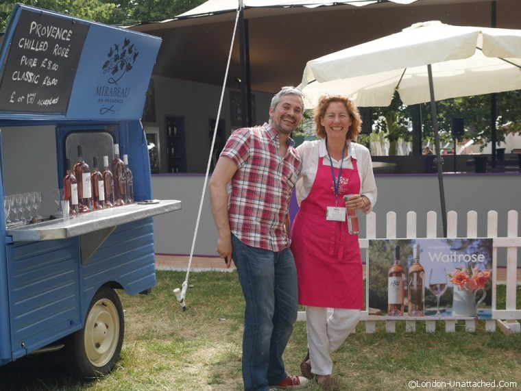 Mirabeau at Taste London
