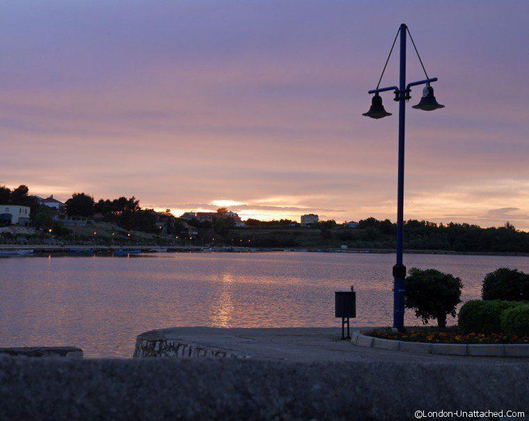 Nin Lagoon sunset