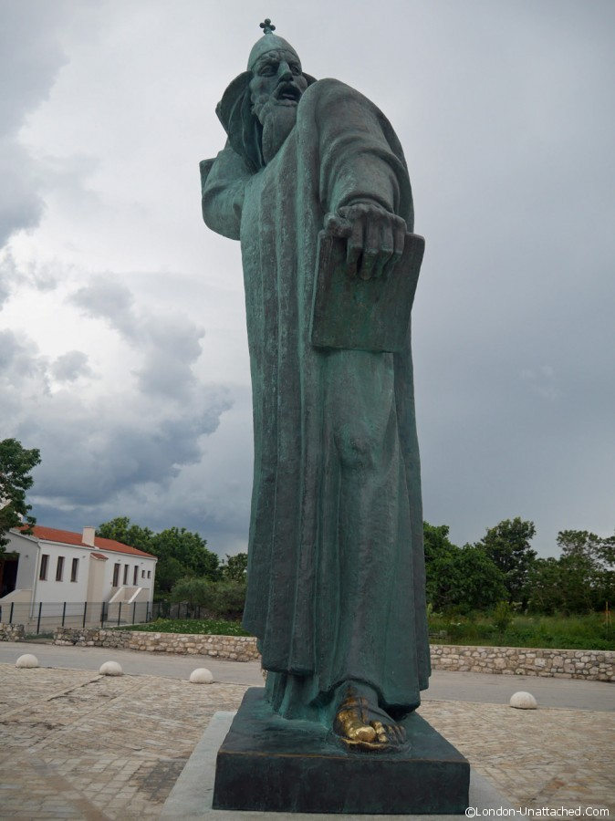 Nin - statue of St Gregory