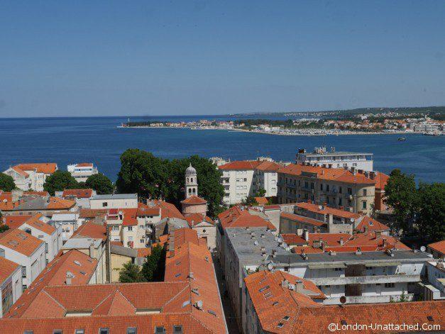 Roofs of Zadar