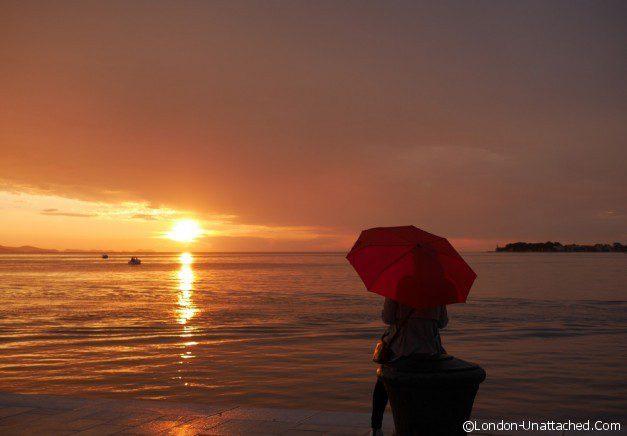 SUNSET IN THE RAIN ZADAR