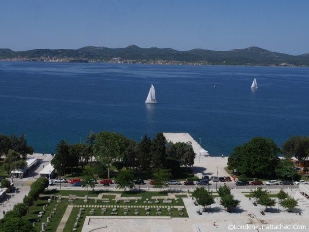View of forum Zadar