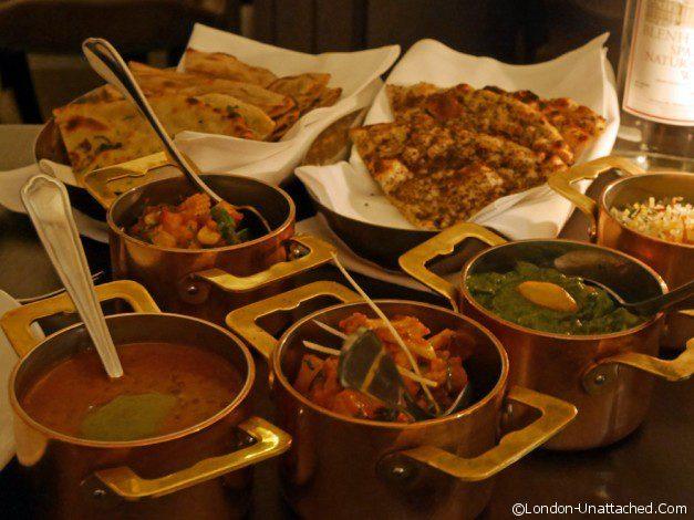 Zaika Vegetarian main courses