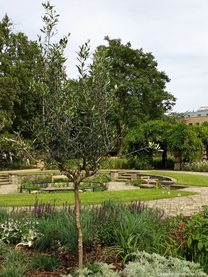 Flower Garden Kennington Park