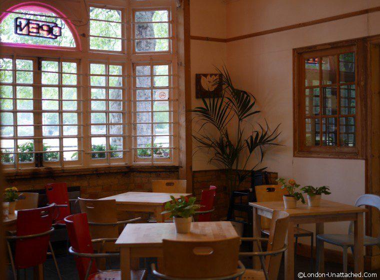 Interior Kennington Park Cafe