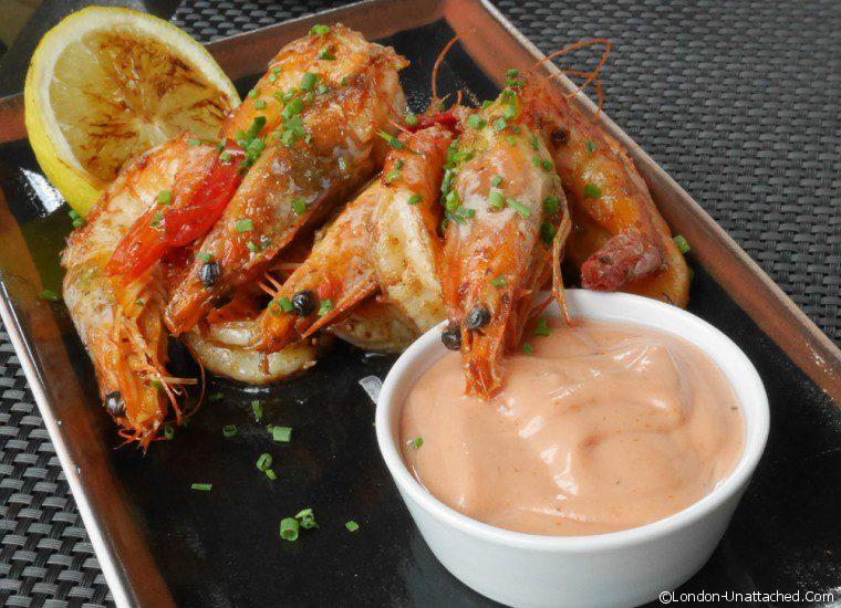 Manhattan Grill - prawns