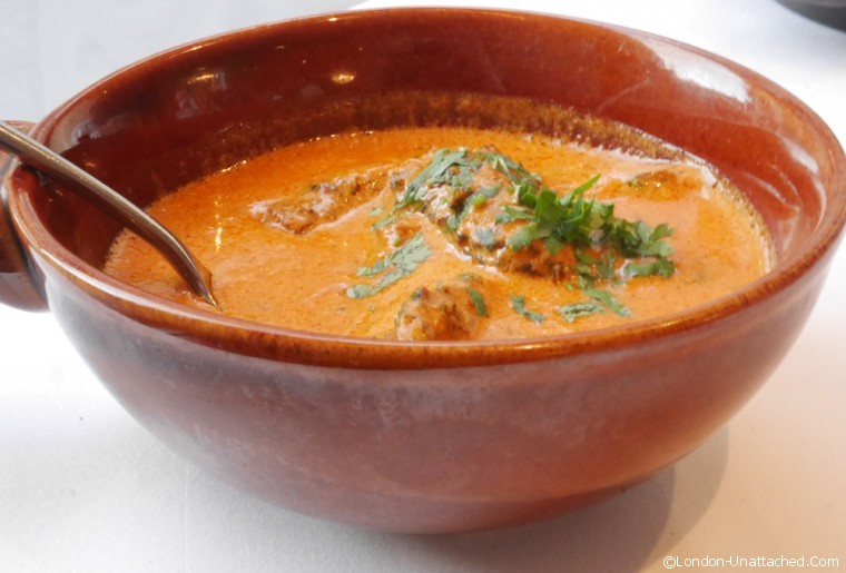 Moti Mahal - vegetarian menu