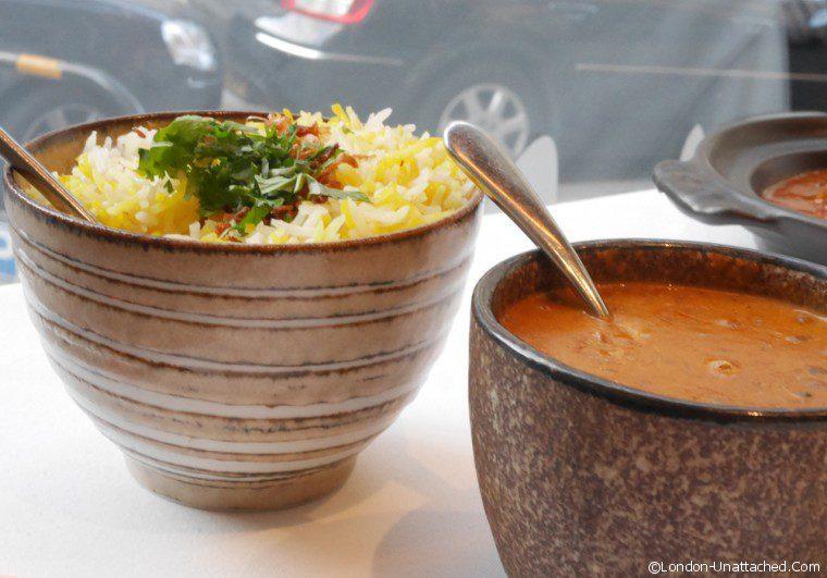 Moti Mahal Dahl and Rice