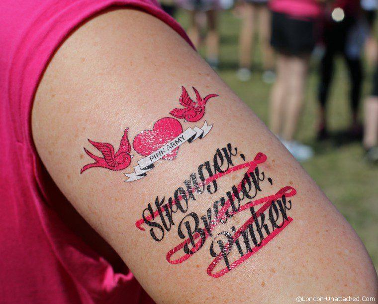 Raceforlife Tattoo