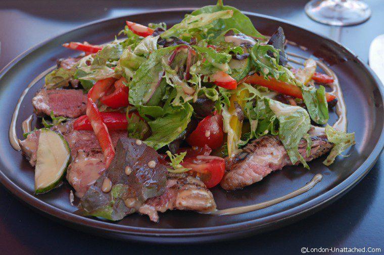 Riverside Brasserie Roast Beef Salad