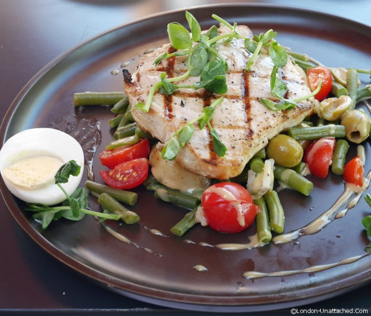 Riverside Brasserie Swordfish Nicoise
