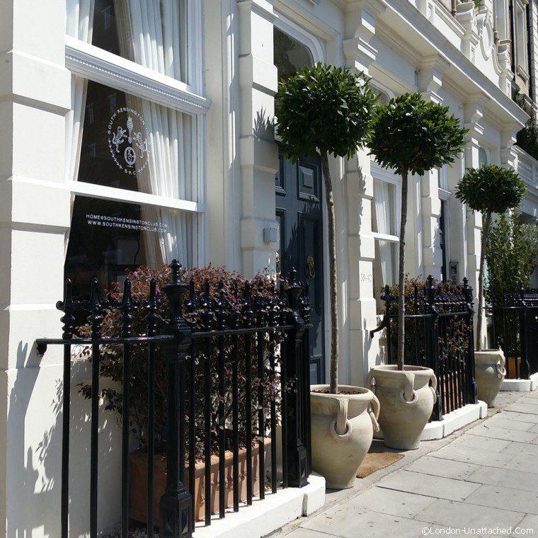 South Kensington Club Entrance