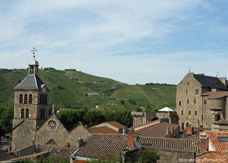 Tournon sur Rhone - rooftops