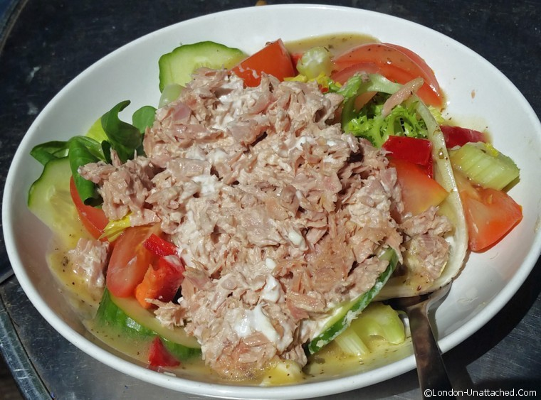 Tuna Salad Kennington Park Cafe
