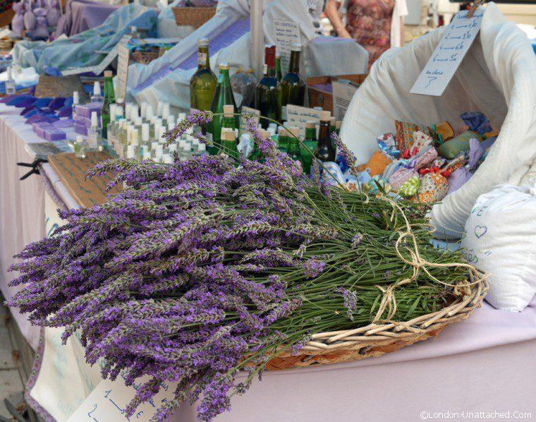 Vaison la romaine - lavender - Terroir - Cotes du Rhone