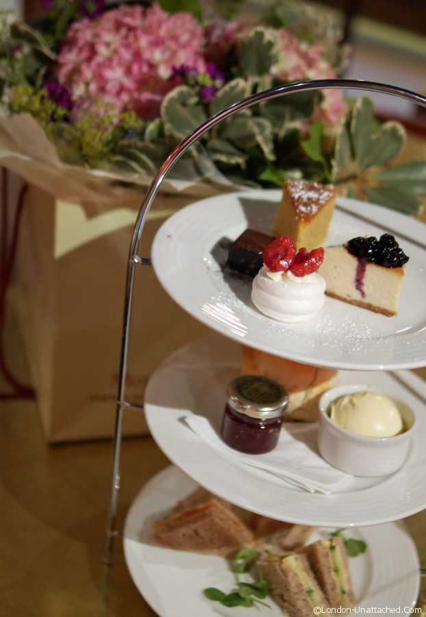 Villandry Afternoon Tea and Bouquet