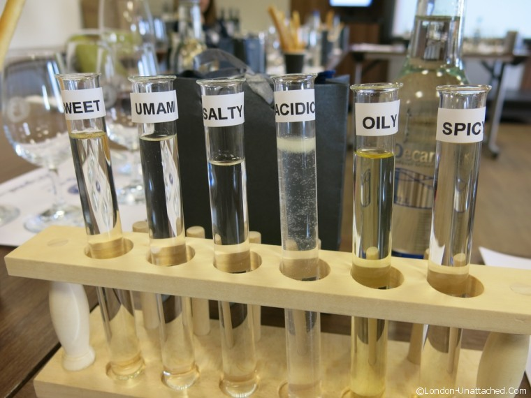 WSET TestTube Flavours