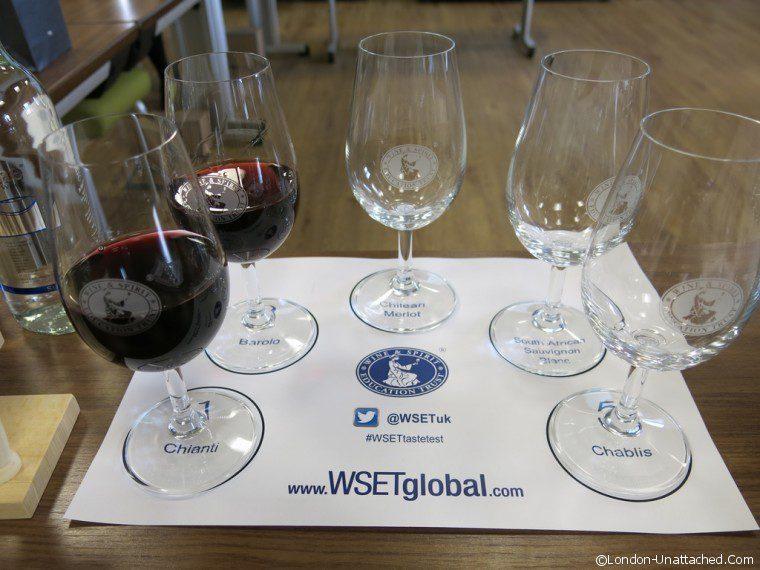 WSET Wine Layout
