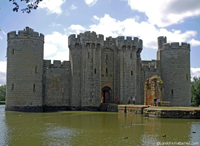 Bodiam Castle Drawbridge