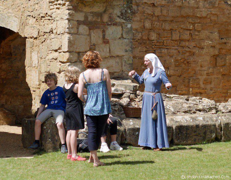 Bodiam Castle Living History 2