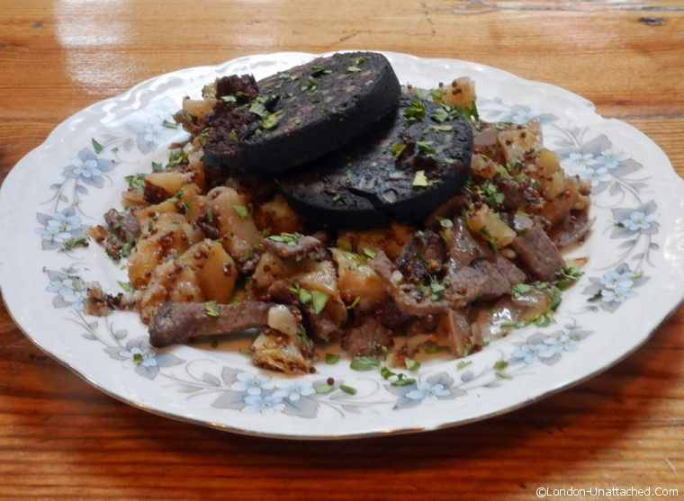 Candlemaker - beef and black pudding