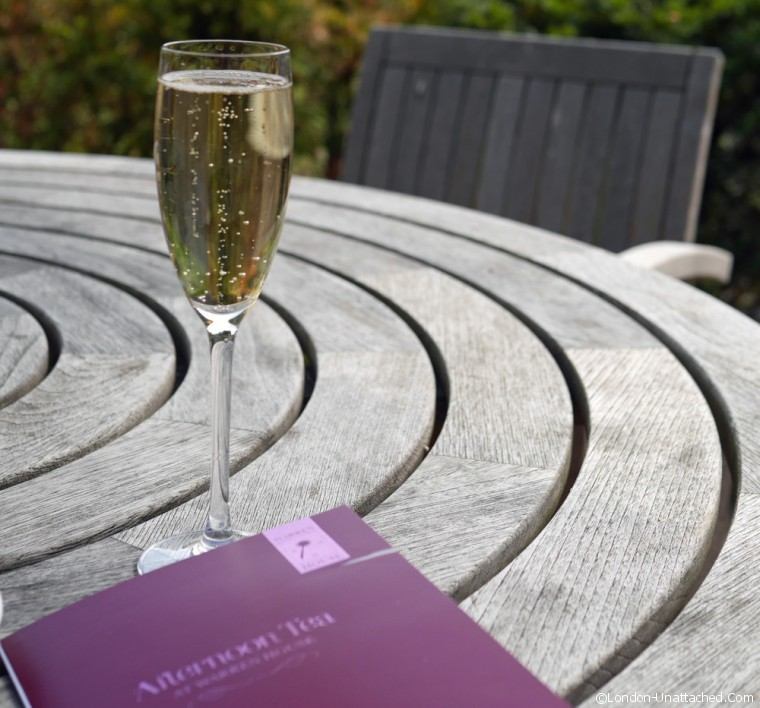 Champagne at Warren House