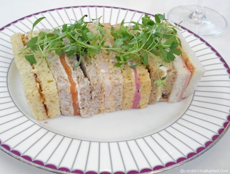 Corinthia Afternoon Tea Sandwiches
