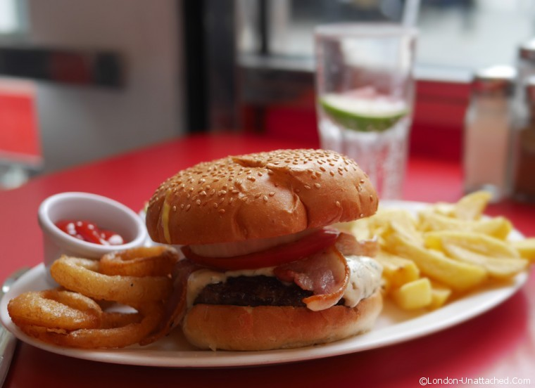 Eds Easy Diner Bacon Blues