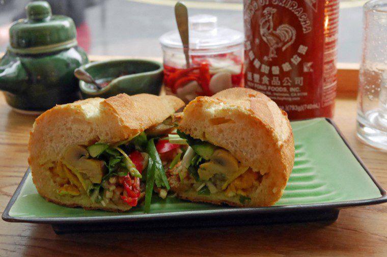 Keu Vietnamese Kitchen Soho - Banh mi - Smokey Aubergine