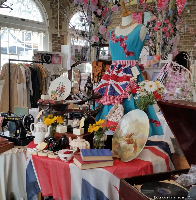 Kingston Craft and vintage display
