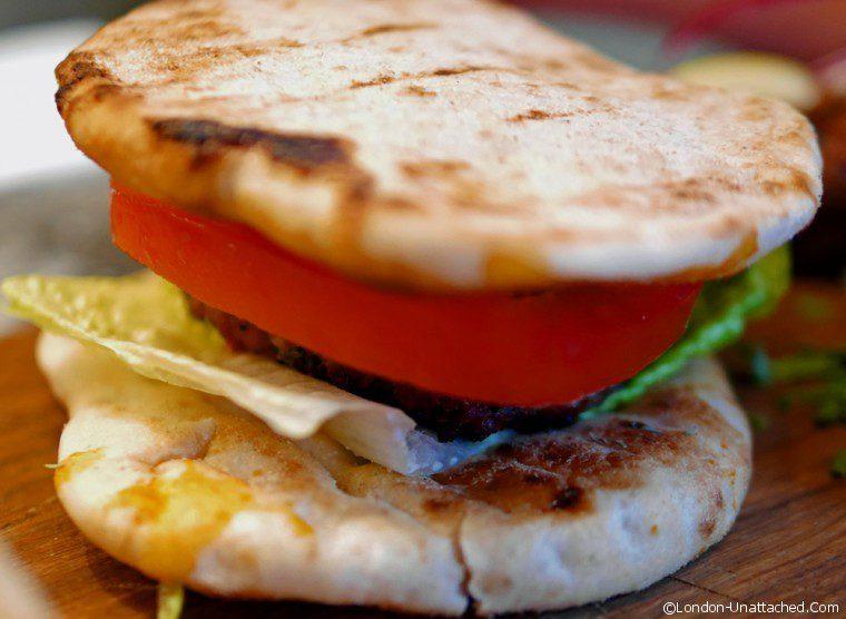 Souvlaki - Pita Burger