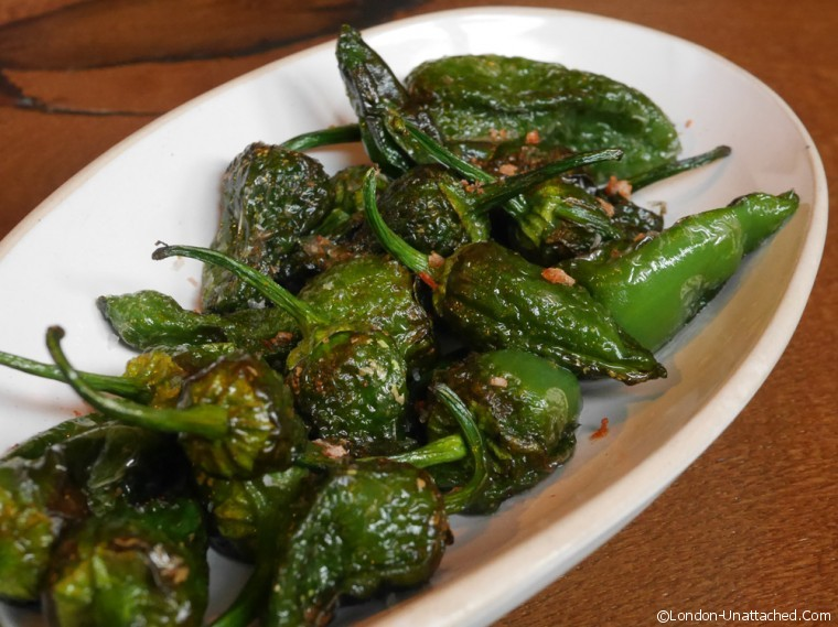 Tapas Revolution Padron Peppers