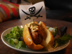 Turkey Hot-Dog Pirate Ships