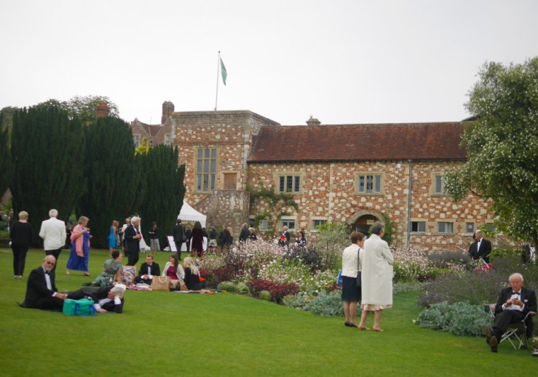 Glyndebourne braving the elements