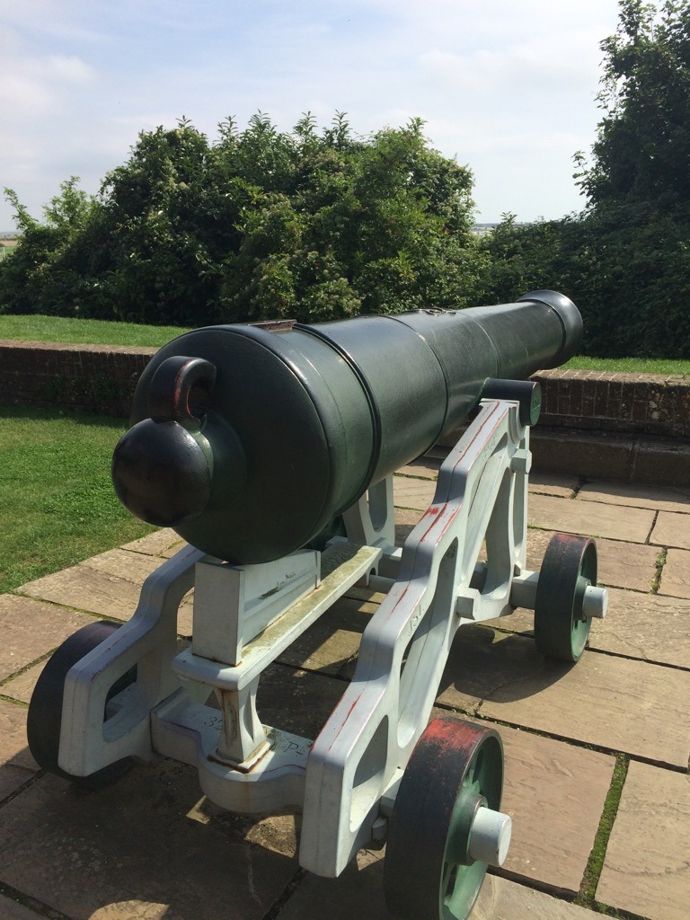 Rye Ypres Tower cannon