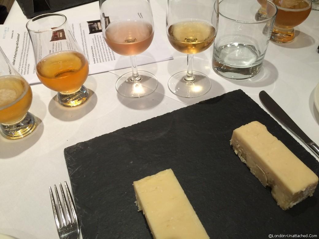 Cheese and sake