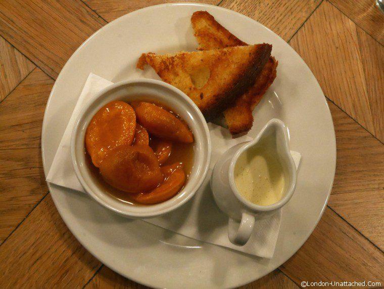 St Johns Maltby Street Apricot Dessert