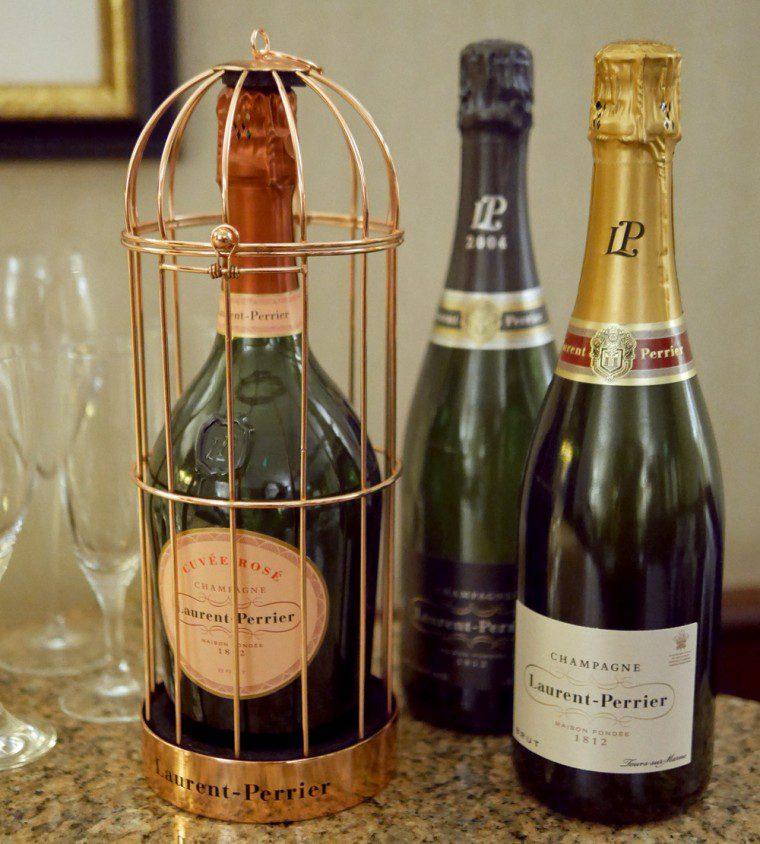 Trio of champagnes at Taj St James's