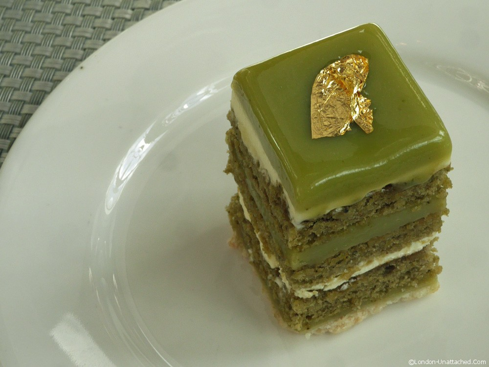 Green Tea White Chocolate Mascarpone Brownies With Chocolate Ganache ...