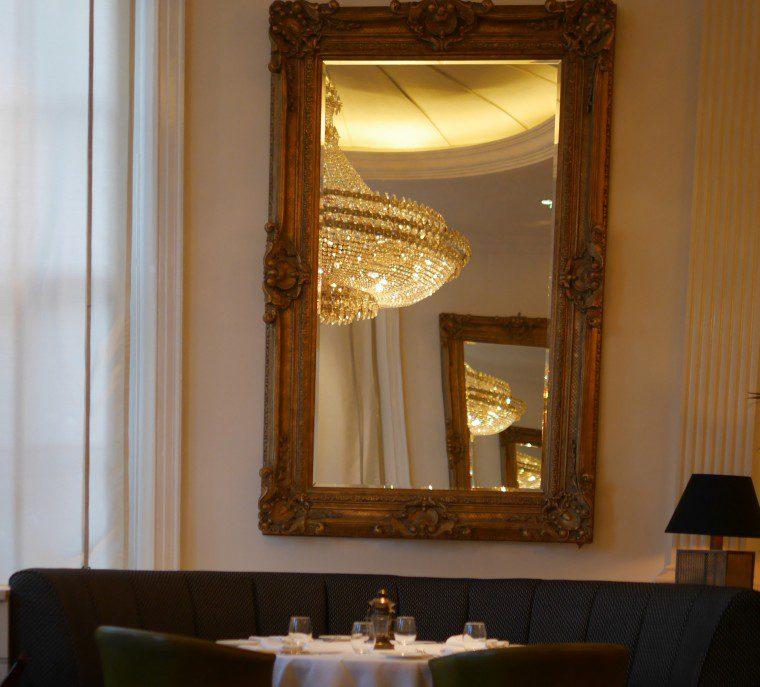 bombay brasserie - mirror