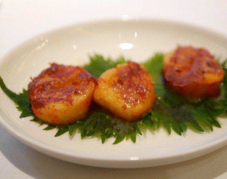 bombay brasserie - scallops