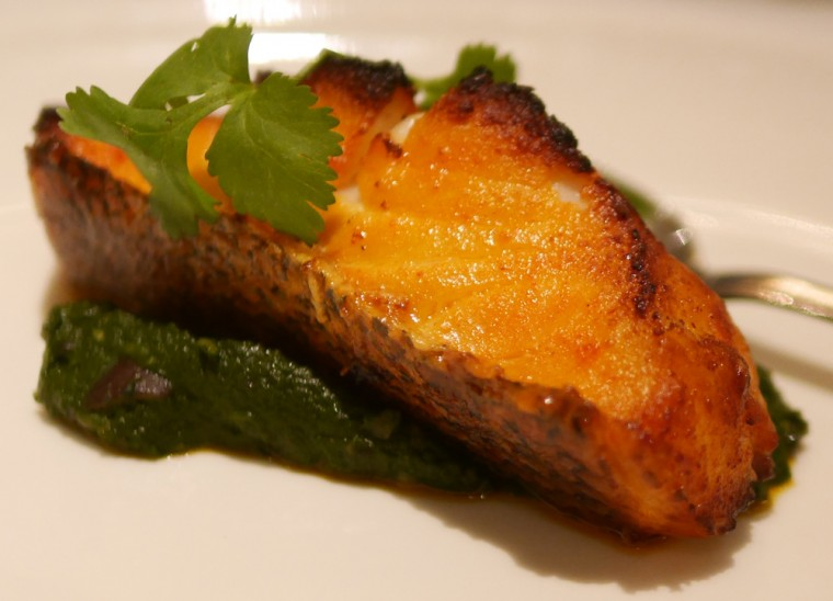 bombay brasserie - sea bass