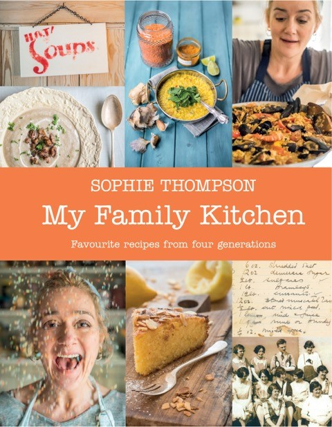 sophie thompson my family kitchen