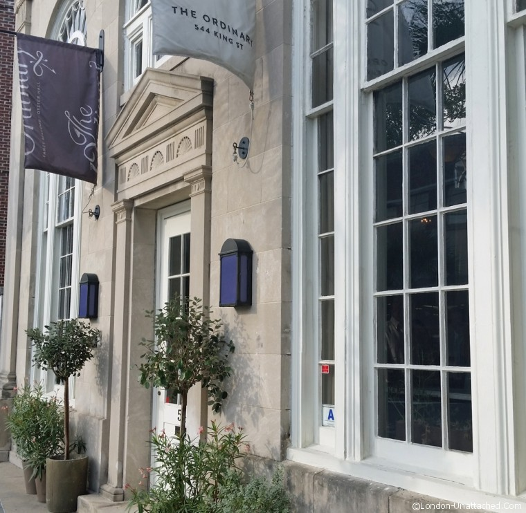 the Ordinary exterior Charleston South Carolina